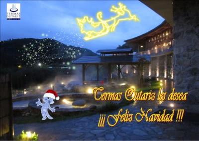 Termas Outariz, spa, Ourense, Feliz navidad