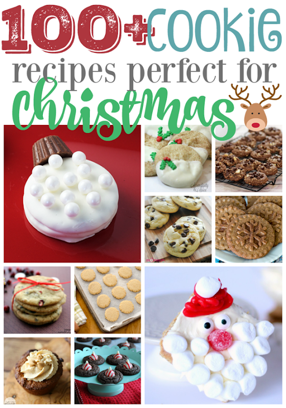 100 Cookie Recipe Perfect for Christmas #cookies #recipes GingerSnapCrafts.com