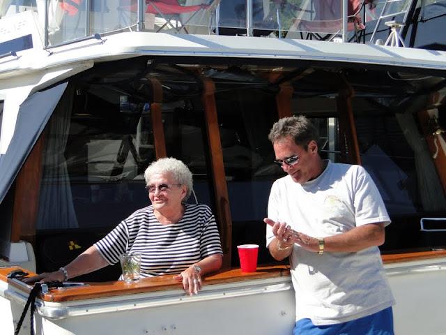 Ruthie & Ron Rennebaum on Ruthie's 81st B'day.