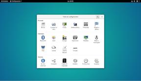 Como configurar GNOME con detalle. Todas las opciones.