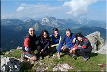 Udalatx mendiaren gailurra 1.117 m. -- 2015eko urriaren 3an