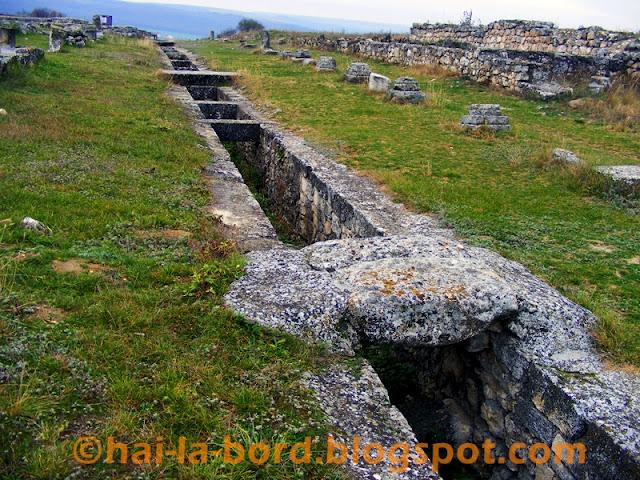 via principalis cetatea adamclisi
