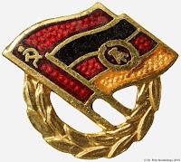 0187 GDSF Ehrennadel Gold erespelden