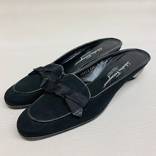 Salvatore Ferragmo Black Mules