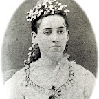 Susie Reid Wife of James Lucien Gleaves, Sr. who was son of Dr. Samuel Crockett Gleaves  Taken 1877 in her wedding dress