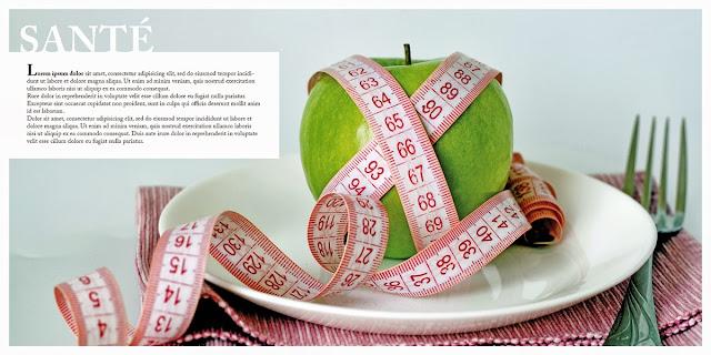 création plaquette Régime alimentaire