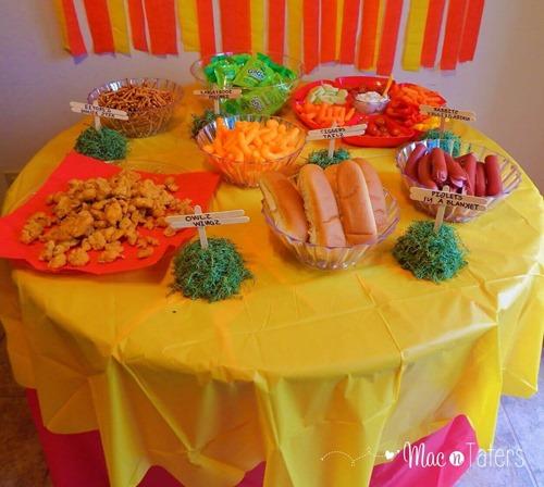 Winnie the Pooh Birthday Party Food Ideas
