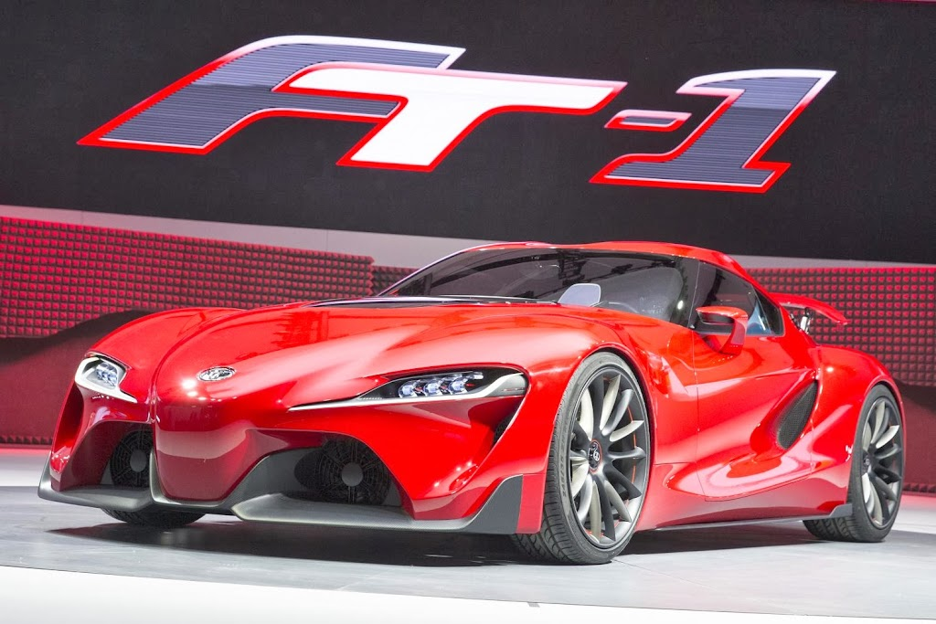 Toyota FT-1 Concept Unveiling 1