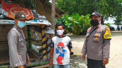 Polsek Sumur Polres Pandeglang Gelar Patroli Prokes dan Monitoring Tempat Wisata Daplangu dan Hotel Ciputih