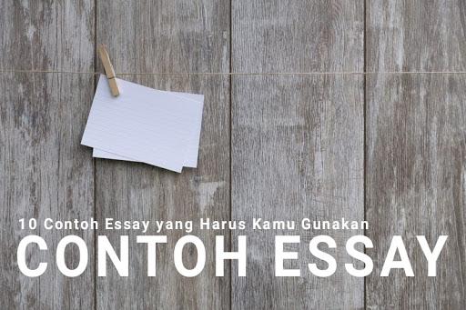 10 Contoh Essay Ilmiah Pendidikan Pengertian Dan Langkah Langkah