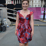WWW.ENTSIMAGES.COM -   Louise Dearman     at   Get Reading festival at Trafalgar Square, London Organised by the Evening Standard in partnership with e-reader firm NOOK July 13th 2013                                             Photo Mobis Photos/OIC 0203 174 1069