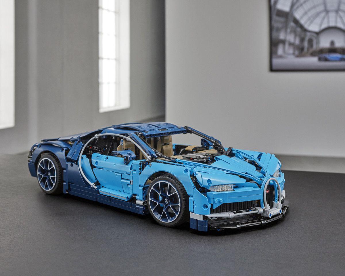 Lego Technic Bugatti Chiron Unveiled Wvideo