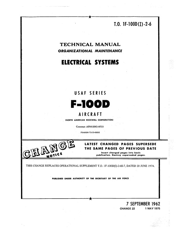 [North-American-F-100D-Electrical-Sys]