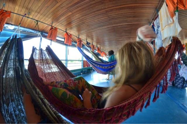sailing yurimaguas to iquitos peru