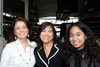 Carmen Garcia, Anna Carrizales and Gabby Carrizales.