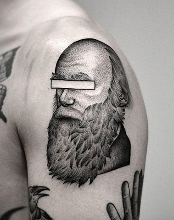 Este homem barbudo