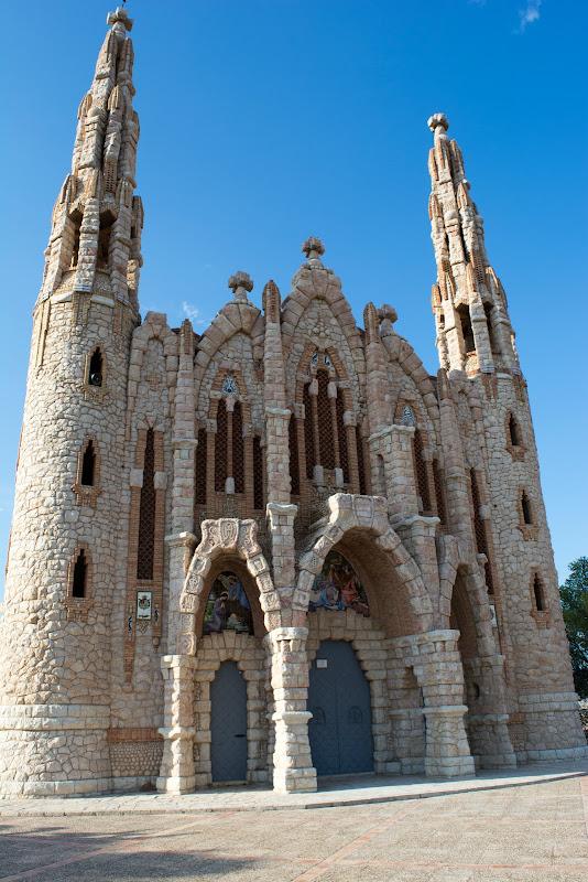 Castillo de la Mola y Santuario de la Magdalena en Novelda