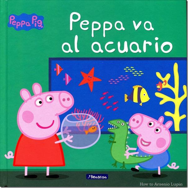 Peppa - Peppa va al acuario - página 1