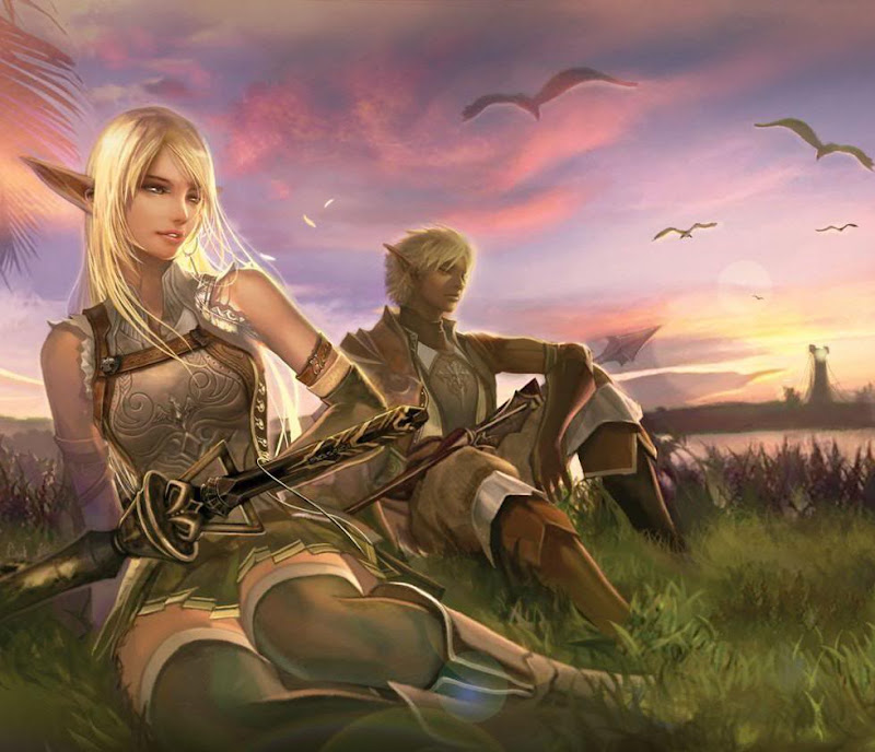 Elves, Elven Girls