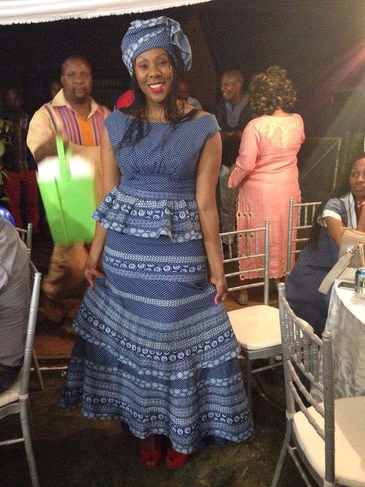 Shweshwe Dresses 2016 Archives Style You 7
