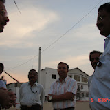 Demonstration of Amateur Radio Satellite communication to Mr Annadurai and Mr Raghavamurthy - DSC00131.JPG