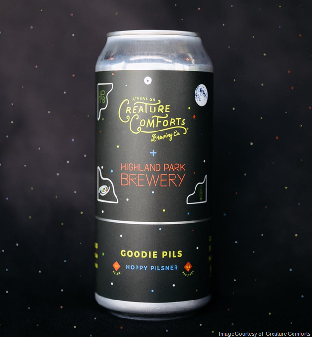 Creature Comforts Releasing Goodie Pils Cans