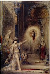 MOREAU Gustave The Apparition c. 1876