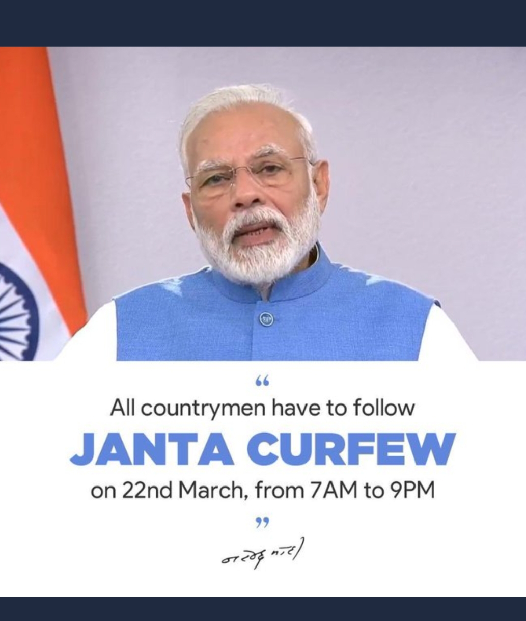 Image result for janta curfew