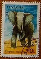 timbre Tanzanie 003