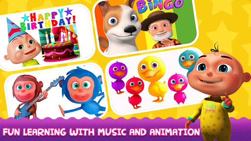 Kids Preschool Learning Songs Apps (apk) free download for Android/PC/Windows screenshot