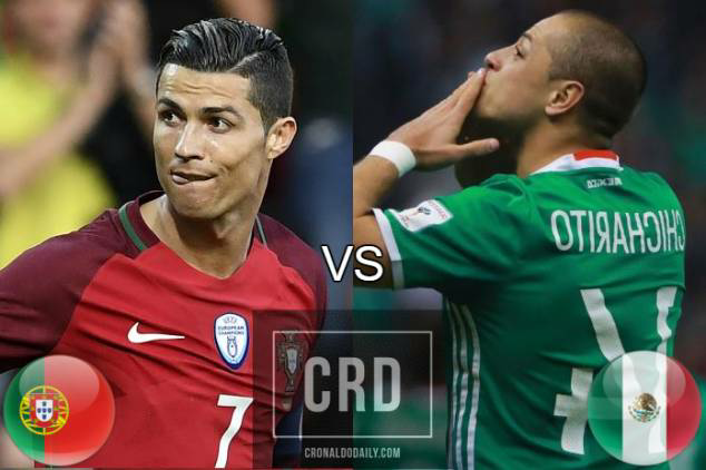 Portugal vs Mexico Confederation Cup Match Highlight