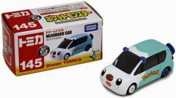 Mô hình xe ô tô Dream Tomica 145 Pokemon Mijumaru Car phù hợp với các bé trai từ 3 tuổi trở lên
