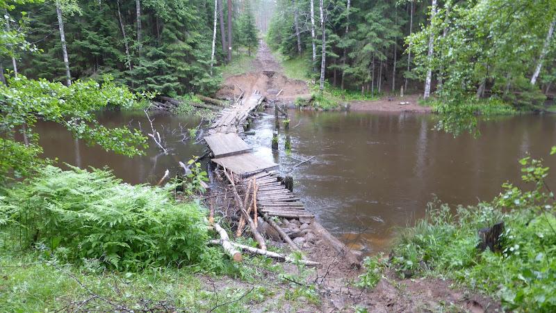 Brücke auf russiche Art
