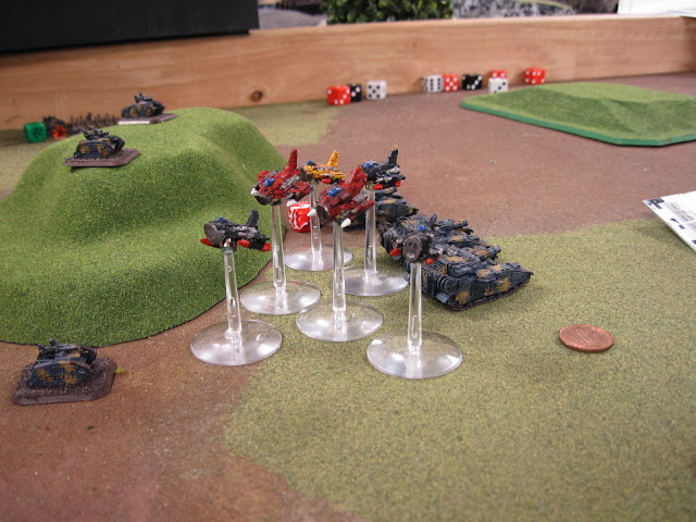 Karl's flyboyz strafing the guard.