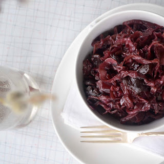 Braised Red Cabbage & Cherries