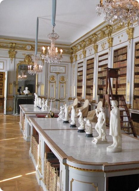 Drottningholm Palace Library-Swedening