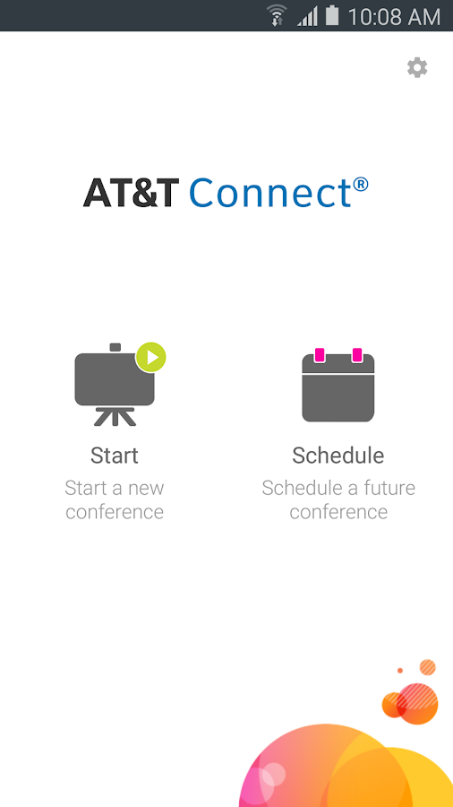 AT&T Connect- screenshot