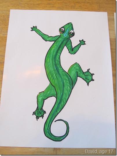 Haitian Gecko 1
