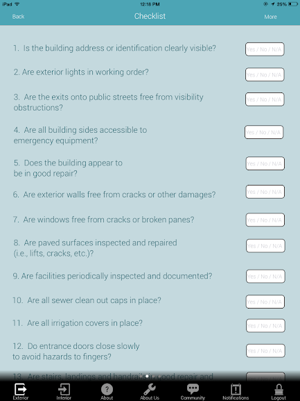Building Inspection App 9
