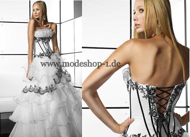 Brautkleid Hochzeitskleid Ballkleid, A Linie Abendkleid Brautkleid ...