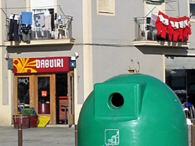 Bar Daguiri on Barcelona beach: a Guardia Civil hangout?