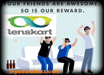 Lenskart  Refer and Earn Paytm cash 300 Rs unlimited per Invite