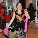 Veranstaltung in der spanischsprachigen Gemeinde in Düsseldorf, die dort zu Ehren der Muttergottes i