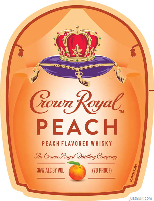 Crown Royal Peach Flavored Whiskey