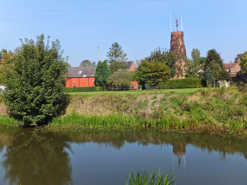 Batemans brewery from the River Steeping