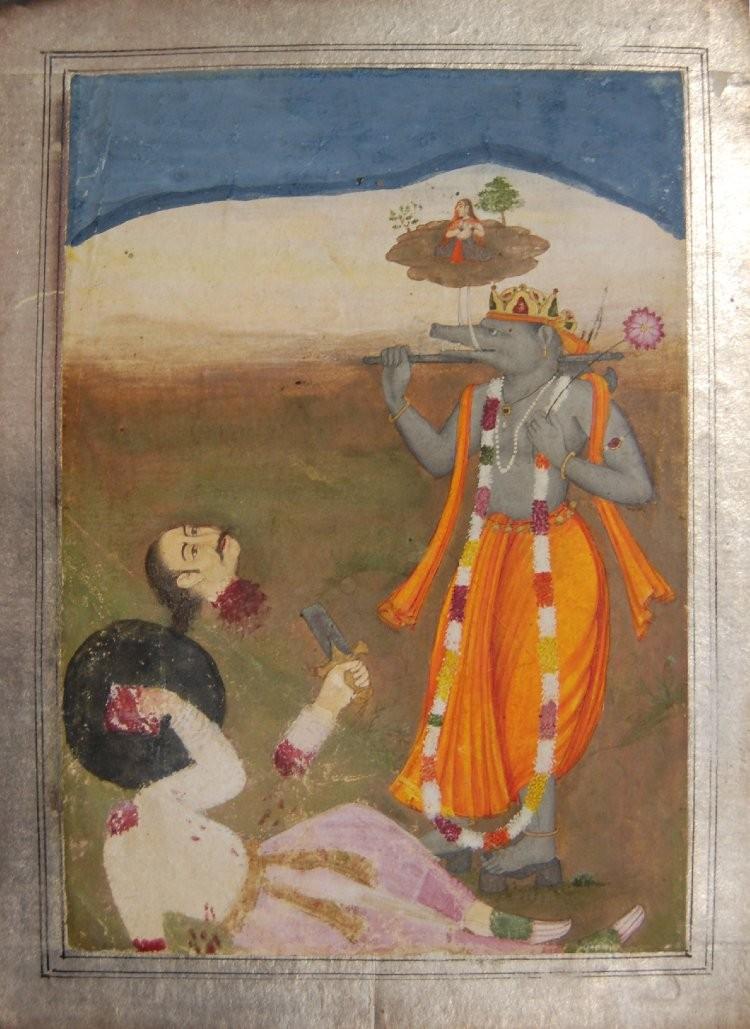 Appearance of Sri Varahadeva