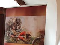 A Szenc környékiek és az első világháború című kiállítás felirata a múzeumban.JPG