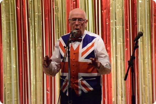 Richard Batty was the Master of  Ceremonies