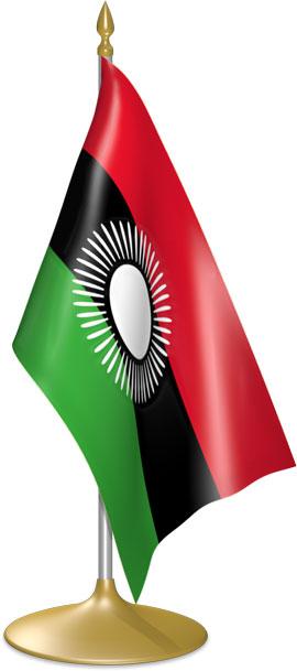 Malawi Flag 2015