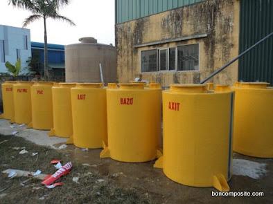 Bồn chứa hóa chất xử lý nước thải
